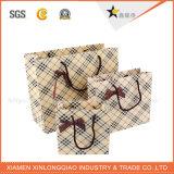 Sacco di carta laminato del Matt del nero di carta dell'imballaggio di alta qualità