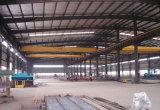 Oficina longa da construção de aço da forma da extensão