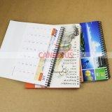 Подгонянное печатание календара стены календара стола качества