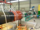 Tubo d'isolamento termico del PE che fa macchina 1425*11.7mm 110-1600