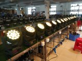 Stade de l'éclairage à LED 19x12W a conduit le déplacement de la tête de zoom
