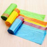 Biodegradable течебезопасный мешок отброса Drawstring