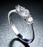Кольца горячего Zirconia Jewelry- надувательства кубического латунные (R0825)
