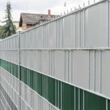 Grau schützende PVC-Datenschutz-Streifen-Schirm-Geräusch-Garten-Zaun-Zaun-Folien-Windschutz-Verkleidung