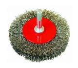 Cricular a serti la brosse métallique en laiton sans arbre (JL-CWB)