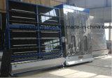 ガラス洗濯機、縦ガラスの洗浄および乾燥機械