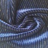 Tricot бархата P/Sp 95/5 с Lurex вязание ткань для создания женских платья
