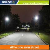 電池の太陽電池パネルが付いている統合された20W LEDの太陽街灯