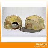 Приспособленные изготовленный на заказ крышки Snapback панели Brim 6 Ny плоские