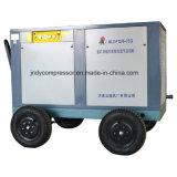 Compresor diesel del tornillo de aire del compresor móvil