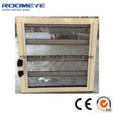 Hochwertiges Aluminiumfloatglas-Luftschlitz-Fenster mit Bildschirm