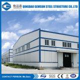 Struttura d'acciaio prefabbricata del fornitore della Cina, magazzino chiaro della struttura d'acciaio