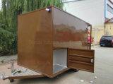 Aliments de préparation rapide mobiles neufs de la Chine des prix inférieurs Vending le mini chariot