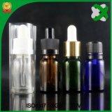 Frasco gotero de vidrio ámbar botella de aceite esencial de la botella de cristal marrón