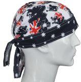 Kundenspezifische Baumwollbandana-Schutzkappe/Doo Lappen