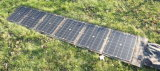100W painel solar flexível feita pela célula Sunpower para camping