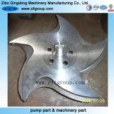 投資鋳造のステンレス鋼閉じるポンプインペラー