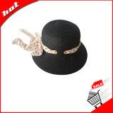 Sombrero de papel, sombrero de paja, sombrero de la mujer, sombrero flojo