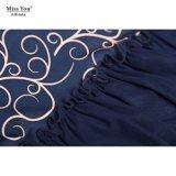 آنسة [يوو] [أيلينّا] 101299 [ففووربل] سعر ضوء شبكة قماش ثوب طويلة ثوب بائع جملة