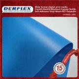 El castillo inflable juega el encerado impreso modificado para requisitos particulares tela revestida del PVC
