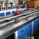 Linha plástica de madeira da extrusão do perfil do PVC do PE dos PP