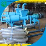 Molkerei-Schrauben-Strangpresßling-Tierdüngemittel-Wasserabscheider mit Pumpe