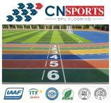 Atlético Spu goma Pista de atletismo con Micro espumado elástico Capa
