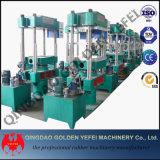 Type de bâti en caoutchouc automatique presse corrigeante de vulcanisation hydraulique de plaque