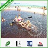 Canapés de pêche transparents PC incassables Transparent Polycarbonate Kayaks de mer