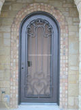 工場直接正面玄関の単一のドアデザイン