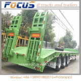 Fabricante/Factory 2/3/4 Axle 70t Lowbed semi reboque do veículo