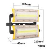 Luz de inundación al aire libre del módulo del más nuevo estilo 100W LED