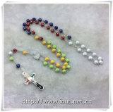 La resina variopinta borda i rosari, il rosario religioso dei branelli (IO-cr390)