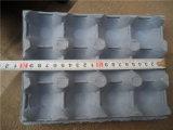 Fabrik-Preis-Papiermassen-Ei-Karton-Tellersegment, das Maschine herstellt