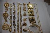 Machine d'enduit d'or de vide en laiton de bijou