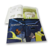 Настраиваемые журнал печати CMYK полноцветная печать журнала