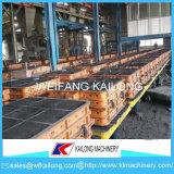 Línea de moldeado del vacío del surtidor de la maquinaria del bastidor del metal
