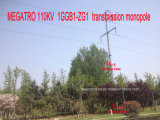 Передача Megatro 110kv 1ggb1-Zg1 Monopole