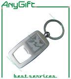 Подгонянный металл Keychain с консервооткрывателем бутылки с подгонянным логосом