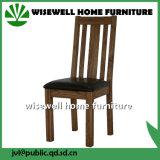 革パッドが付いている椅子を食事している固体カシ