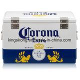 De grote Koelere Doos van het Bier van het Metaal van het Type In het groot met Aangepast Embleem