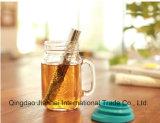 500ml de Kruik van de Metselaar van de Fles van het glas met Handvat en Deksels