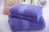 100%年の綿の無地のサテンの浴室タオル