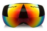 Polarisé PC Double lentille masque sportives Lunettes de ski