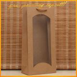 Qualität PVC-Fenster-Kraftpapier-Paket-Papierbeutel (BLF-PB267)