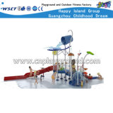 New Design Crianças Outdoor Water Playground Slide Equipment HD-Cusma1605-Wp006