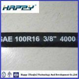 Tuyau hydraulique SAE100 R16 avec double fil d'acier tressé