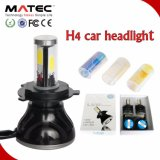 Long Life Time 4 / PCS COB 8000lm 80W 12V 24V H4 Headlight LED