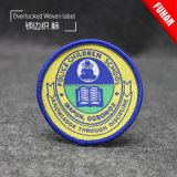 High Quality Popular Merrowed Badge Colorido Moda Woven Patch