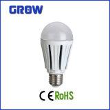 Bulbo de lámpara E27 15W SMD LED de aluminio (GR909)